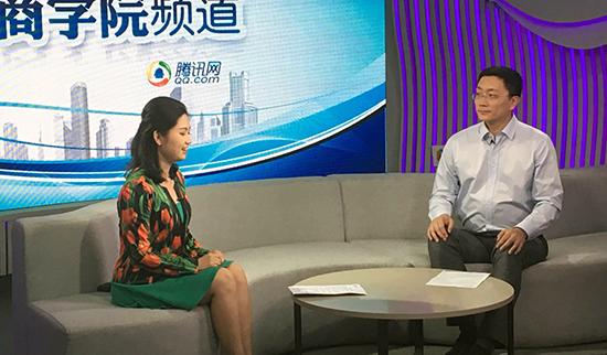 【腾讯】社科赛斯教育集团副校长王金门做客腾讯商学院